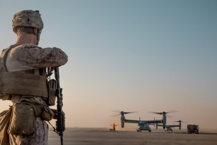 FOTO: (U.S. Marine Corps photo by Cpl. Carlos Lopez)