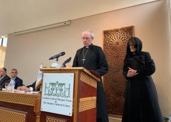 FOTO: Nadbiskup Justin u Regent's Park džamiji (archbishopofcanterbury.org)