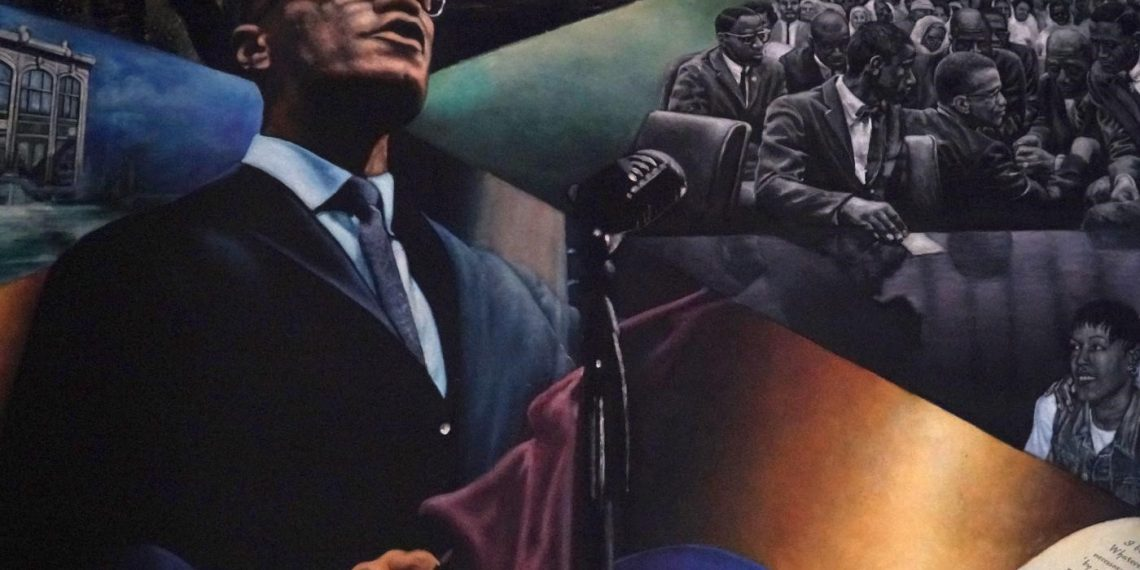 FOTO: Malcolm X (Azad Essa/MEE)
