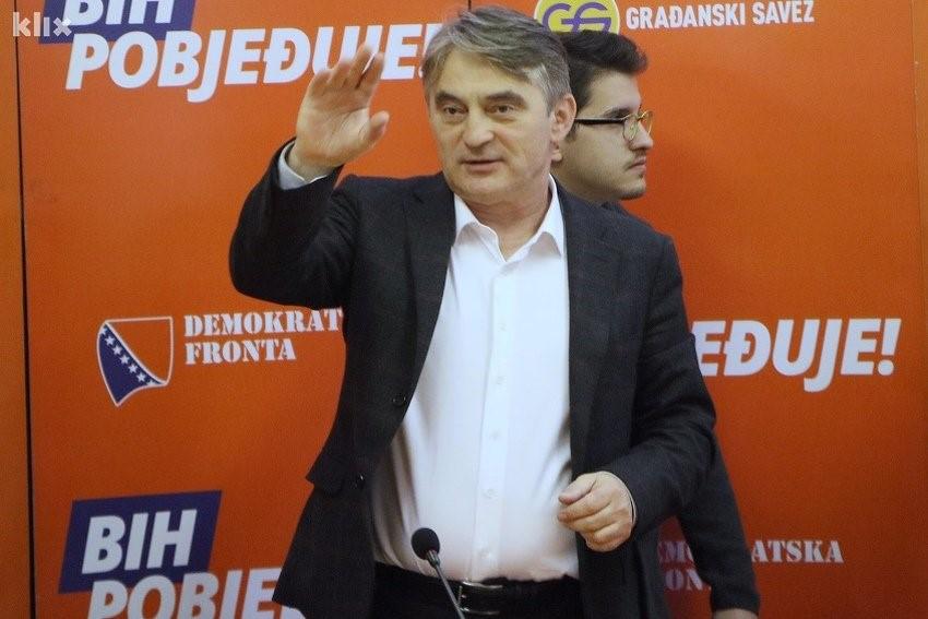 FOTO: Komšić (H. M./Klix.ba)