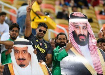 FOTO: Kralj Salman i Mohamed bin Salman (TANJUG/AP)