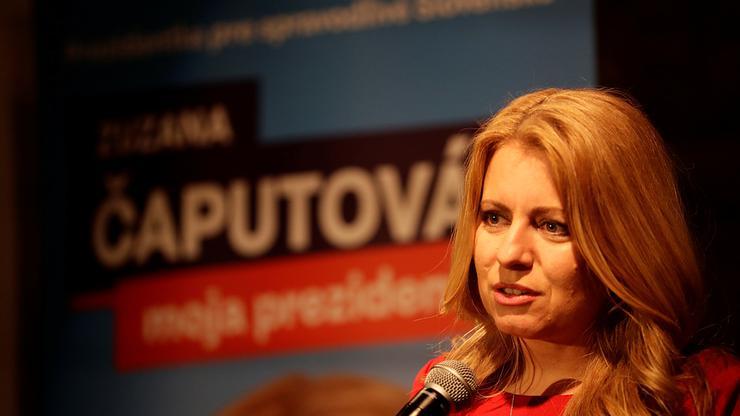 FOTO: Zuzana Čaputova (DAVID W CERNY/REUTERS/PIXSELL)
