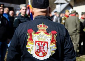 FOTO: Okupljanje četnika u Višegradu (ARMIN DURGUT / PIXSELL)