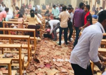 FOTO: Teroristički napad na crkve i hotele u Šri Lanki, 21.4.2019. (DRUŠTVENE MREŽE)