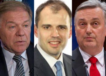 FOTO: Komšić, Bajrović, Lagumdžija (TBT Gaphic, Agencije)