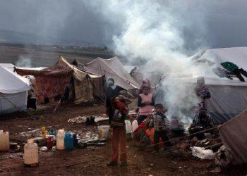FOTO: Izbjeglički kamp (NEWS SYNDICATION/PIXSELL)