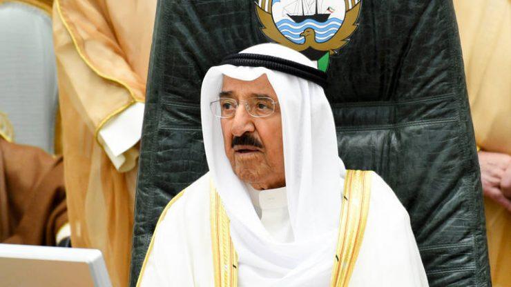 FOTO: Emir al-Sabah (EPA-EFE/NOUFAL IBRAHIM)