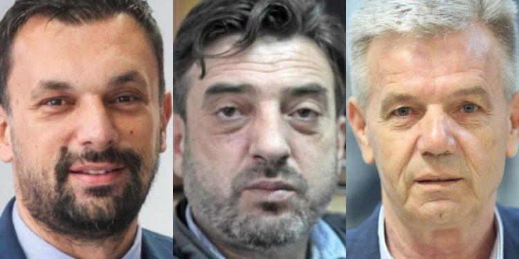 FOTO: Konaković, Hozanović, Kukić (Graphic TBT)