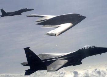 FOTO: Avioni F-15E Strike Eagles i B-2 (USAF)