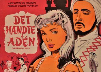 """FOTO: Detalj sa postera """"Desilo se u Adenu"""" na danskom jeziku"""