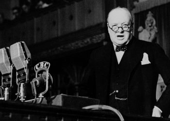 FOTO: W. Churchill (CP Archive photo)