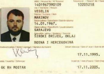 FOTO: Lični dokumenti Veselina Marinova (SCREENSHOT/YOUTUBE)
