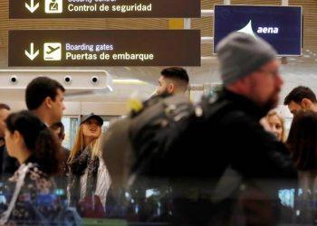 FOTO: Aerodrom u Madridu (EPA-EFE/Chema Moya)