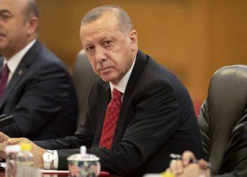 FOTO: Erdogan (EPA-EFE/MARK SCHIEFELBEIN)