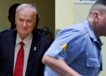 FOTO: Ratko Mladić (REUTERS)