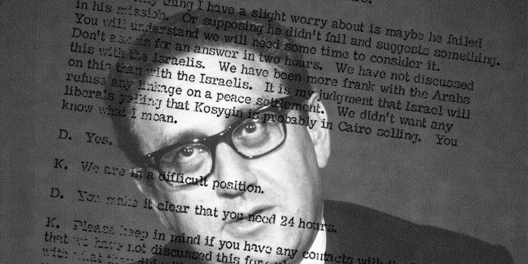 FOTO: Kissinger (Ilustration/FP)