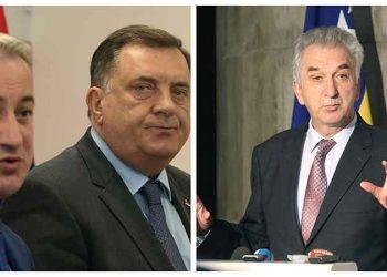 FOTO: Borenović, Dodik, Šarović (srpska.info)