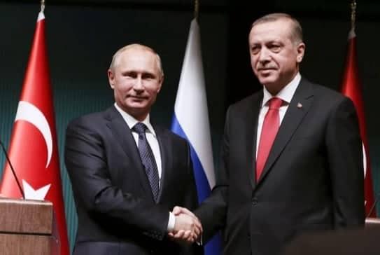 FOTO: Putin, Erdogan (Agencije)
