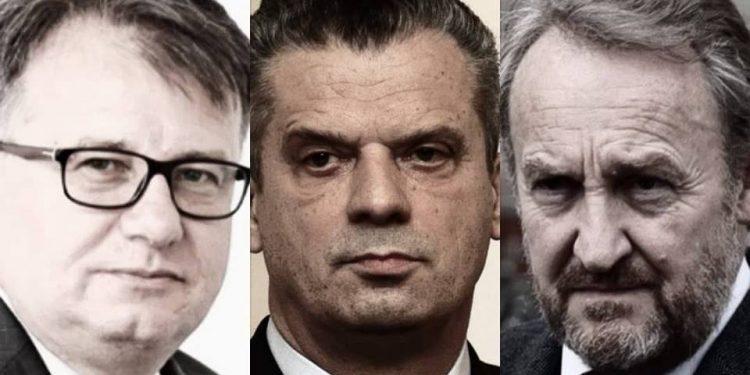 FOTO: Nikšić, Radončić, Izetbegović (Grpahic, TBT)