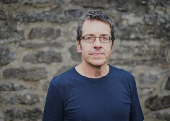 George Monbiot, Oxford, 27/07/2017 photographed by Dave Stelfox for Verso (Promotional use only)