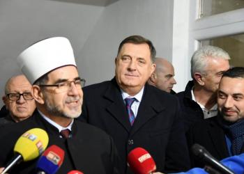 FOTO: Abdibegović, Dodik (Srna)