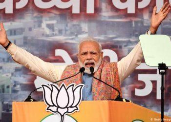 FOTO: Narendra Modi Rede (Getty Images/AFP/P. Singh)