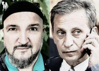 FOTO: Mulahusić, Osmanagić (Graphic/TBT)