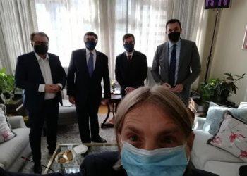 FOTO: Konaković, Nikšić , Kojović ,Palmer, Nelson (FB)